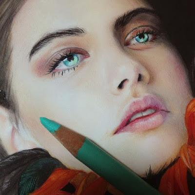 Dibujos Rostros A Color De Chicas Rubias
