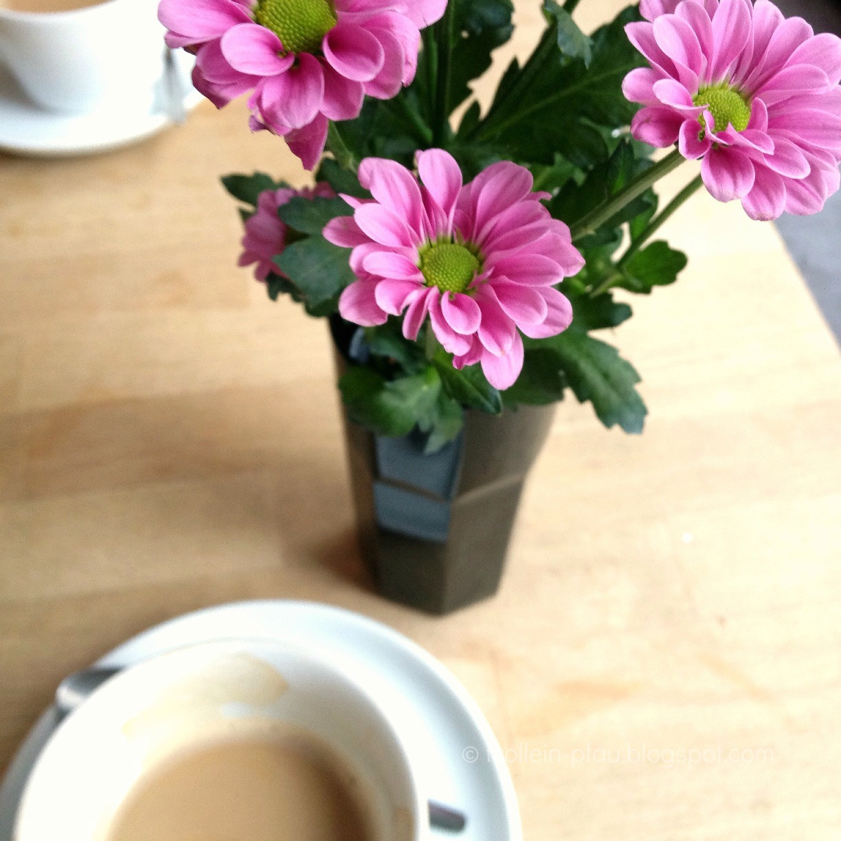 BIWYFI, Beauty is where you find it, Frühling, Blumen, Kaffee, Café