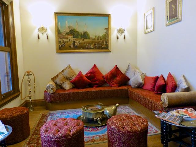 Sala del Hotel Celine de Estambul