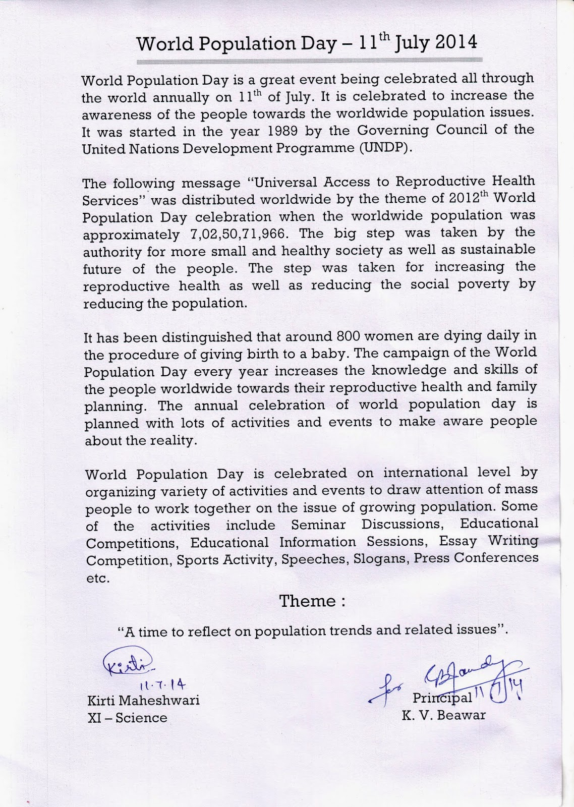 essay on world population persuasive essay on overpopulation  readers club kv beawar world population day posted by amarnath lakhiwal at 04 29