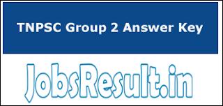 TNPSC Group 2 Answer Key 2016