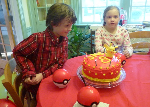 Worcester Family Photos: Jacks 8th birthday party