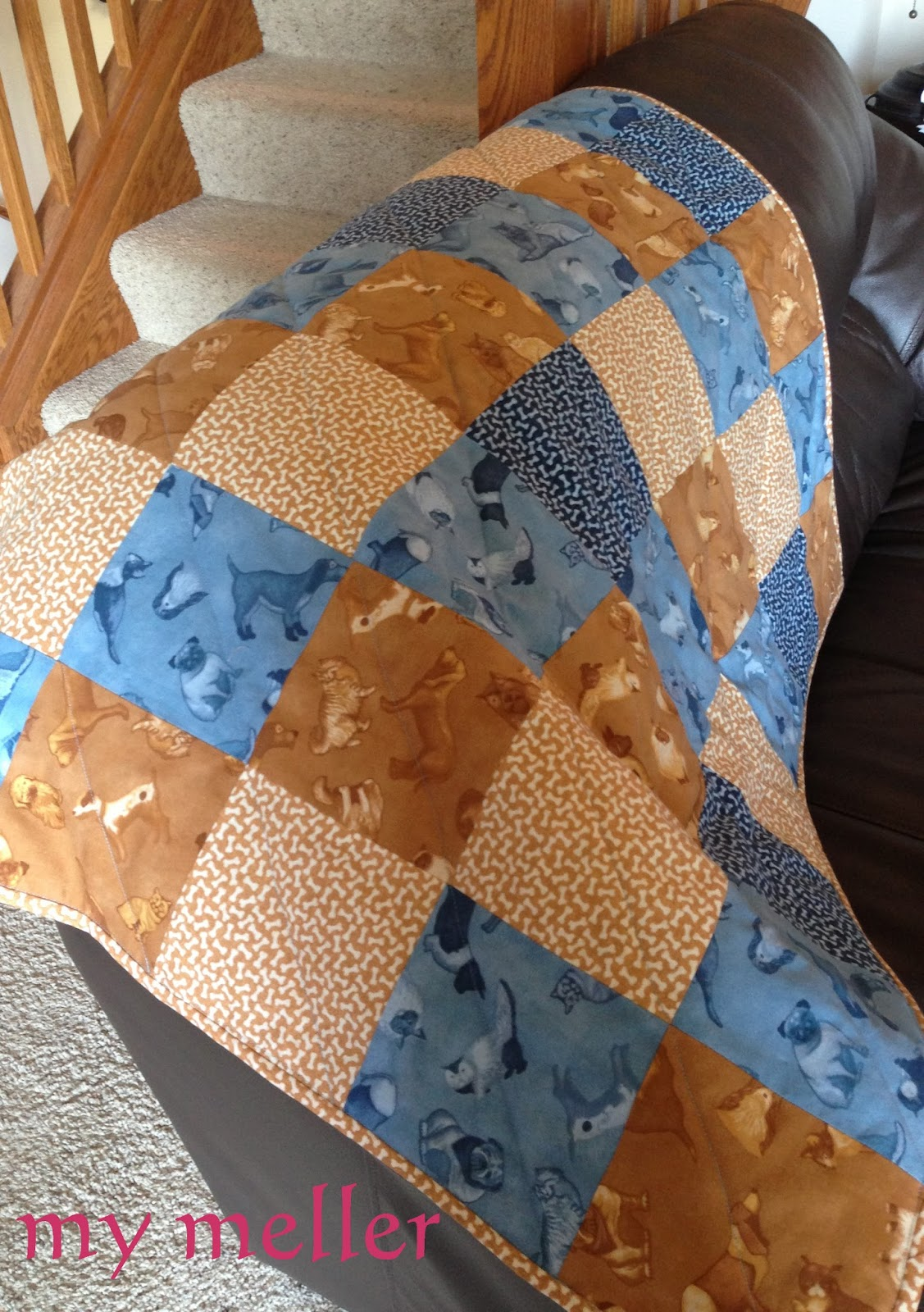My Meller Pets On Quilts 2014 Dog Themed Quilt
