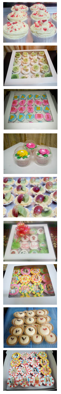 Sweet Cupcakes and Tarts