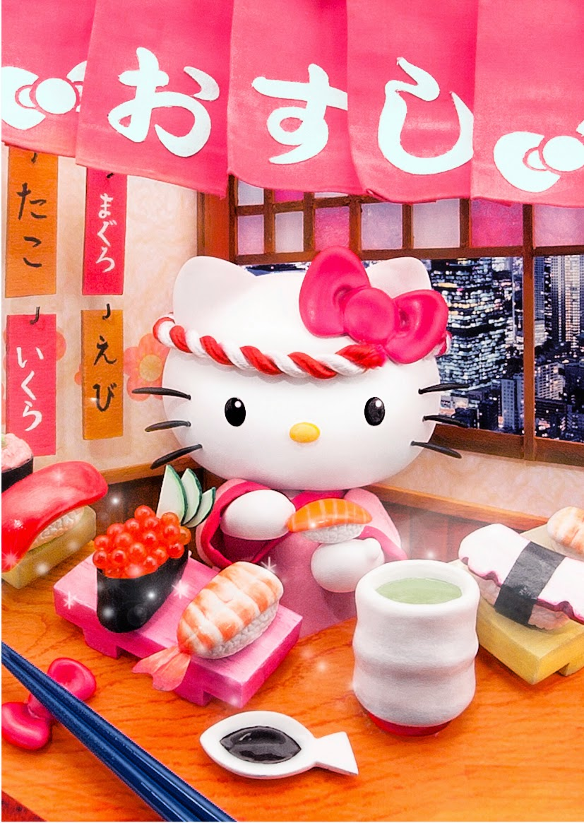 Truly Collectible New Hello Kitty Japan 3d Postcards Arrival Miss