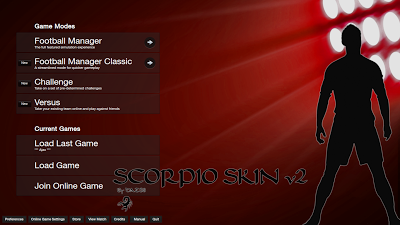 FM13 Scorpio Start Screen Manager image