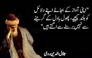 Urdu Quotes, Urdu Quotations, Rumi Quotes, Quotes in Urdu, Maulana Rumi Quotes in urdu,