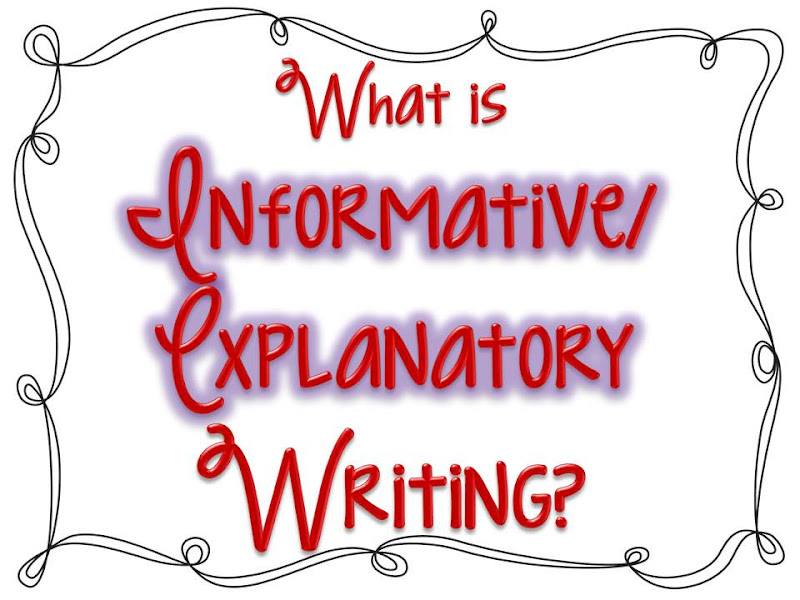 What is an informative essay