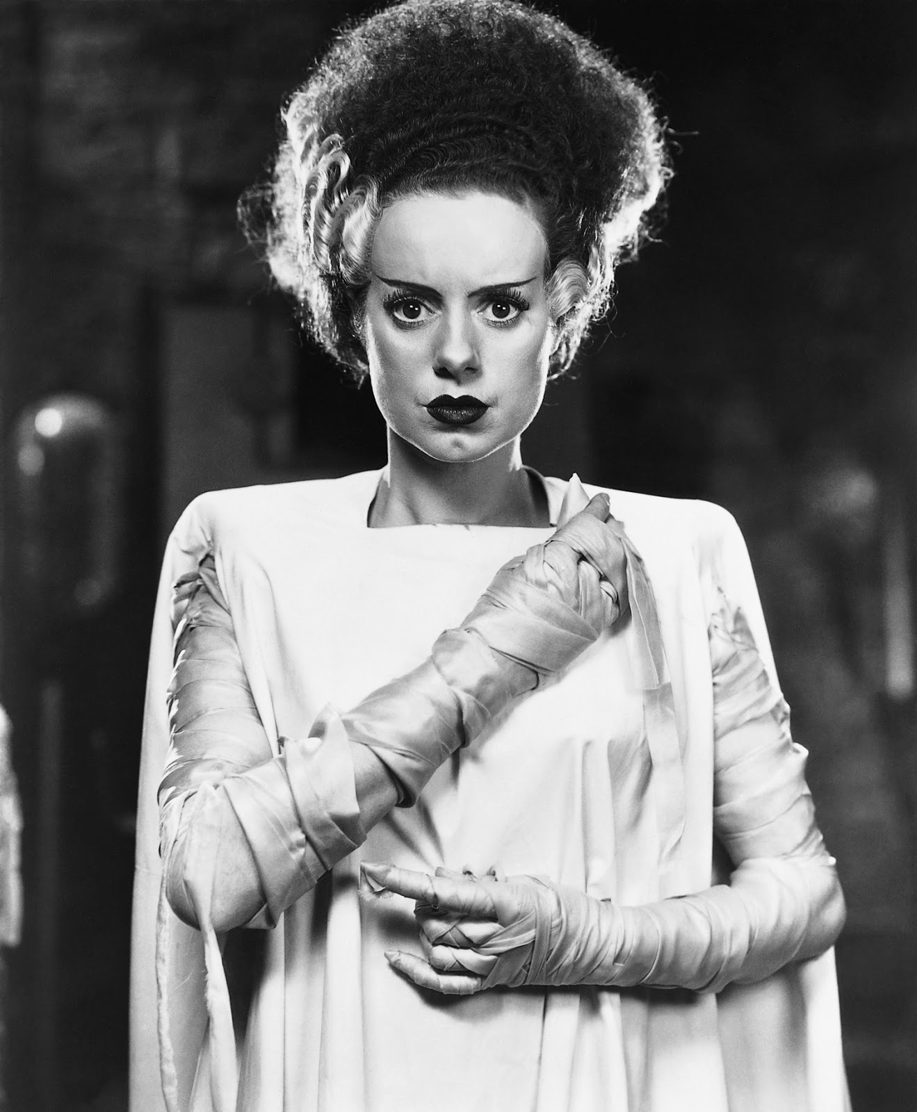 THE BRIDE OF FRANKENSTEIN from Dr  MacroBride Of Frankenstein Actress