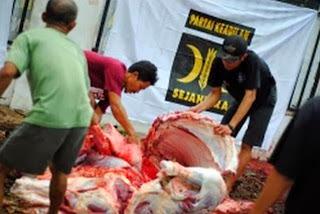 Tebar qurban PKS di Lampung (foto dakwatuna.com)