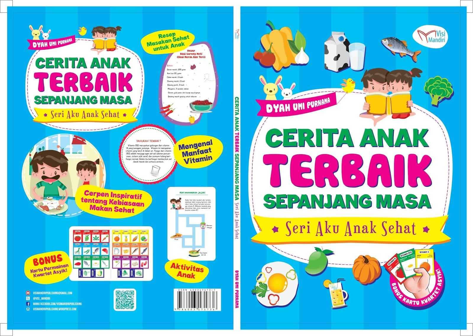 """Buku Cerita Anak Terbaik Sepanjang Masa """"Seri Aku Anak Sehat"""""""