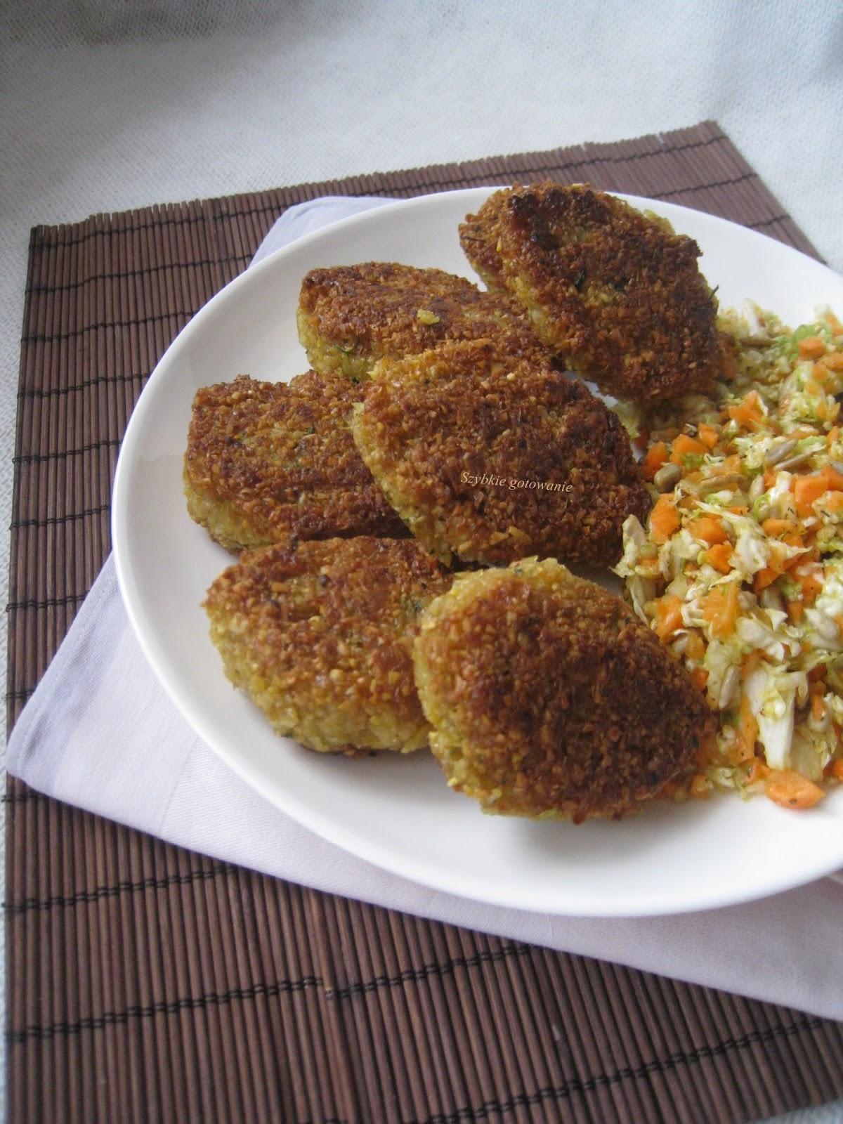 Kotleciki z ciecierzycy (falafel)