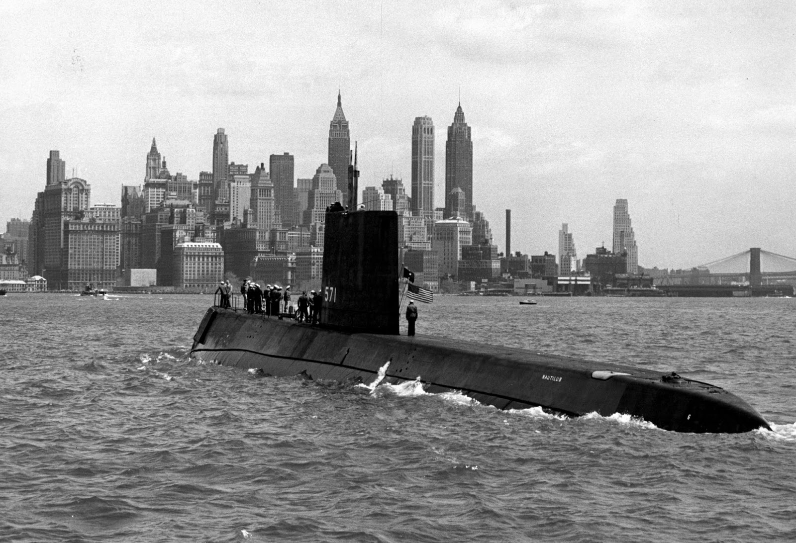 Ultimate Collection Of Rare Historical Photos. A Big Piece Of History (200 Pictures) - USS Nautilus