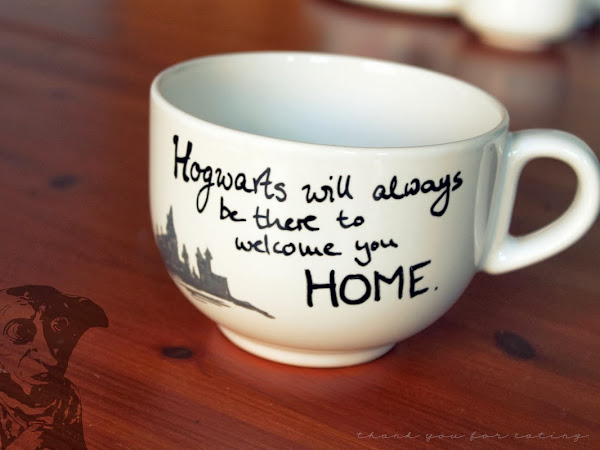 DIY Harry Potter Mugs + Gewinner