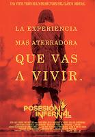 Cartel de 'Posesión infernal', de Fede Álvarez, con Jane Levy, Shiloh Fernández y Jessica Lucas. Making Of. Película