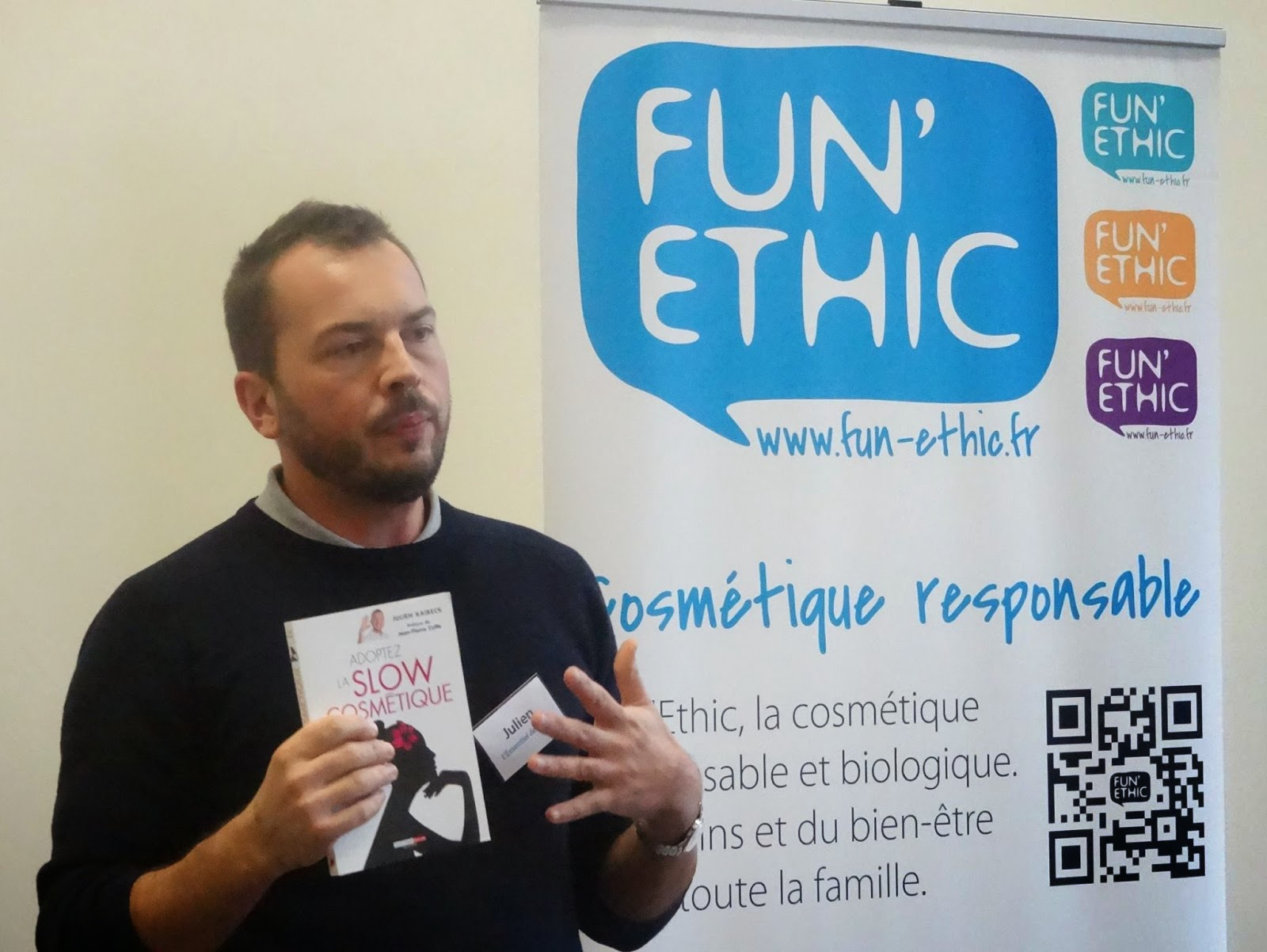 intervention, fun ethic, belgique, slow cosmetique