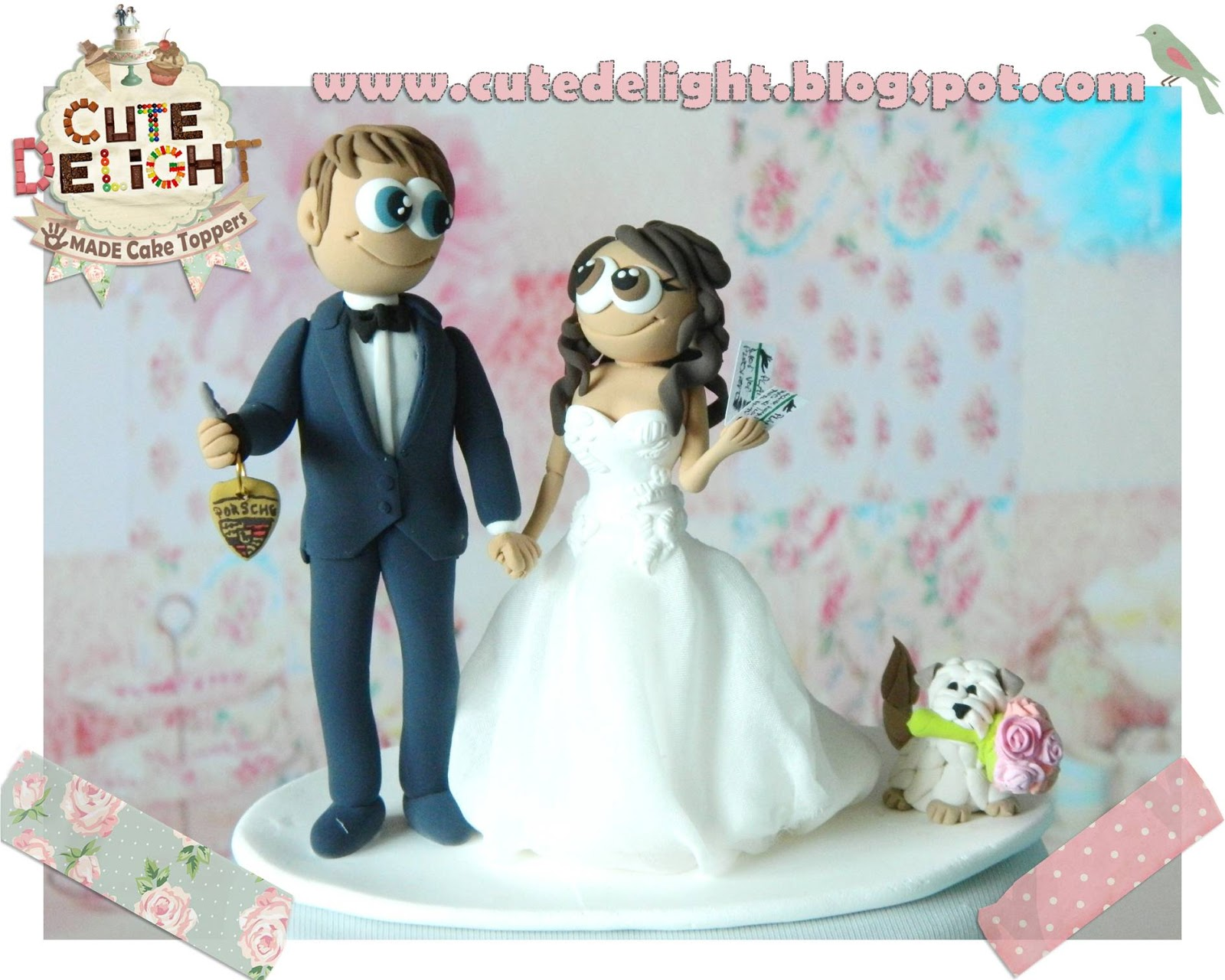 Wedding cake toppers, Custom Cake Topper, Funny cake toppers, Cake ...