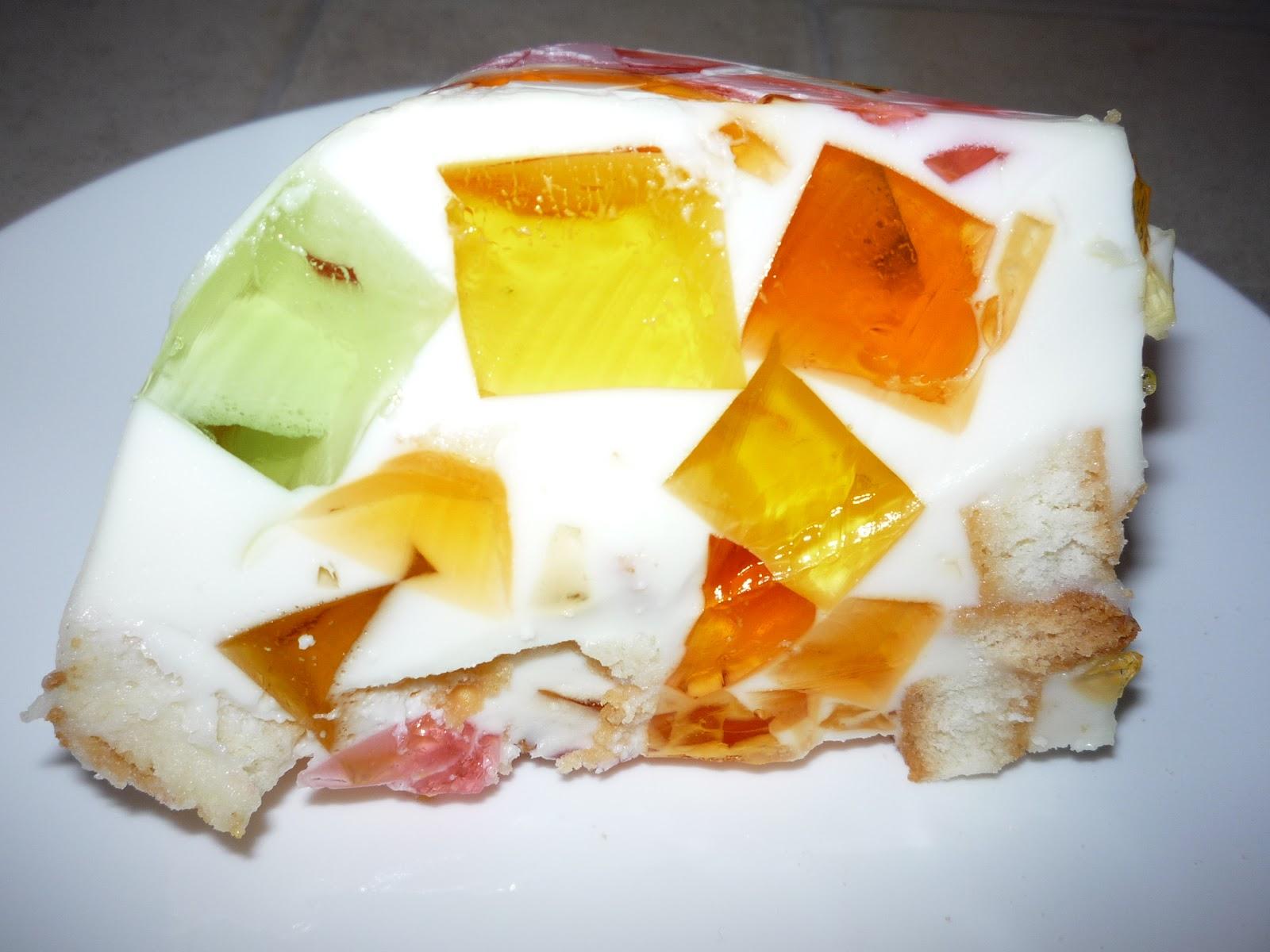 Десерт битое стекло рецепт с йогуртом
