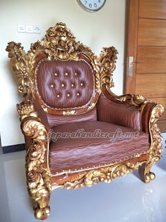 Sofa Tamu Mewah Royal Calista 1 seater