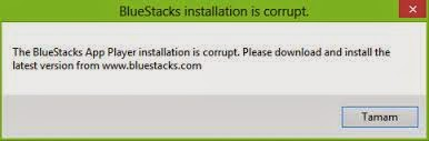 Bluestacks Installation Is Corrupt Hatası Çözümü