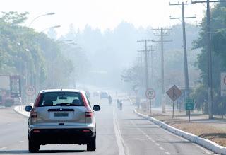 Tempo seco castiga Brasília