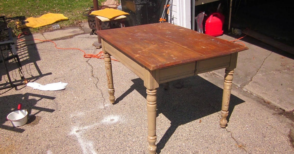 Columbus Home: Before and After: Rustic Farmhouse Table
