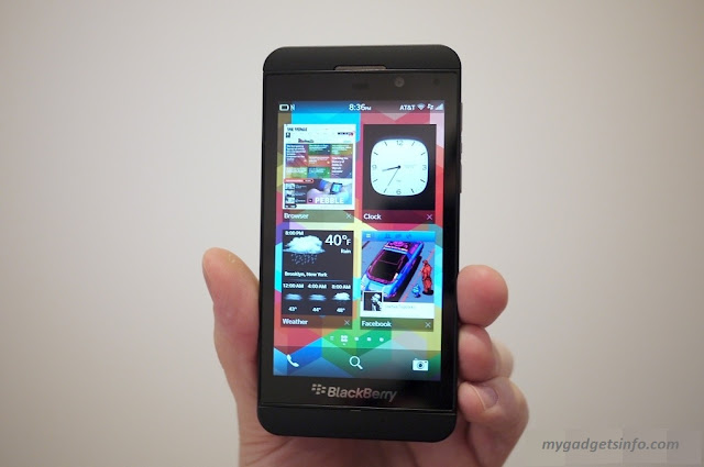 BlackBerry Z10 Smartphone based on BlackBerry 10 OS