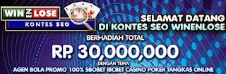 WinenLose Poker Online Terpercaya - Dicoba.Info : Kalau tidak Dicoba, mana Tau!