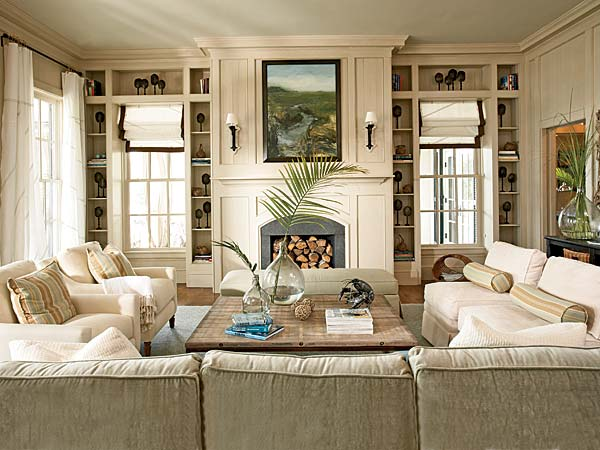 Coastal Living Room Decorating Ideas