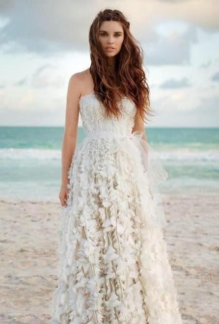 Vestiti Sposa Matrimonio Spiaggia : Le stanze della moda abiti da sposa per un matrimonio in