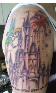 Disney Tattoos - Cartoon Tattoo - Animated Tattoo Ideas