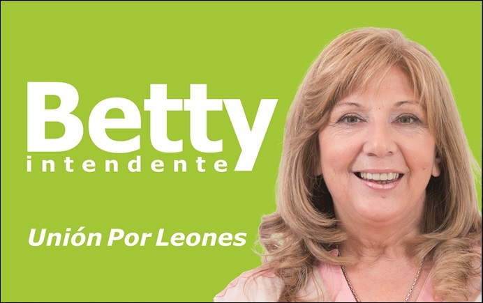 ESPACIO PUBLICITARIO: BETTY INTENDENTE