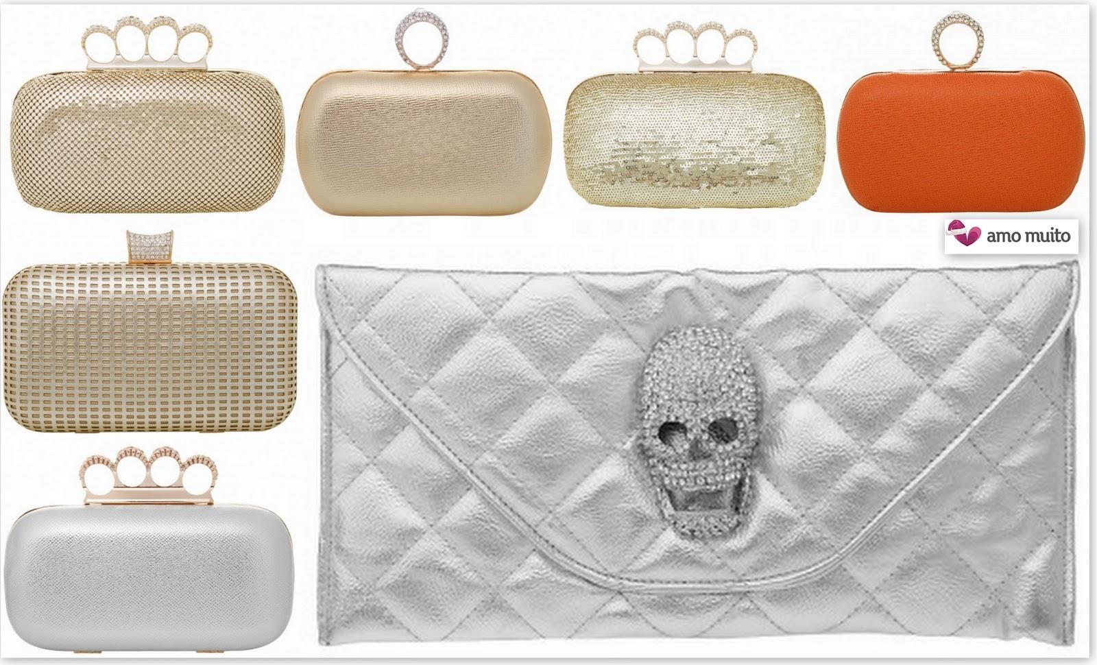 Bolsa Dourada Look : Onde comprar bolsa de festa woman chic