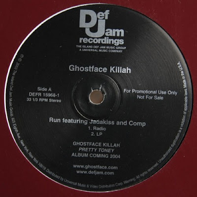 Ghostface Killah – Run (Promo VLS) (2003) (320 kbps)