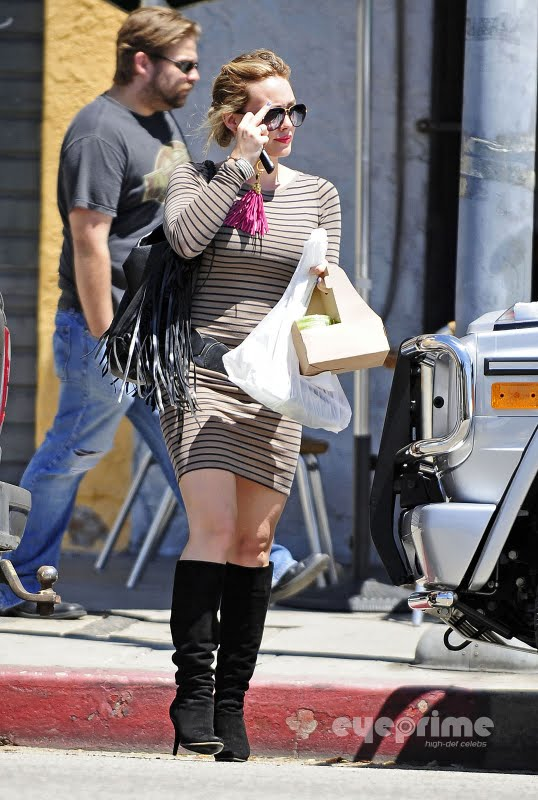 Hilary Duff in Hollywood