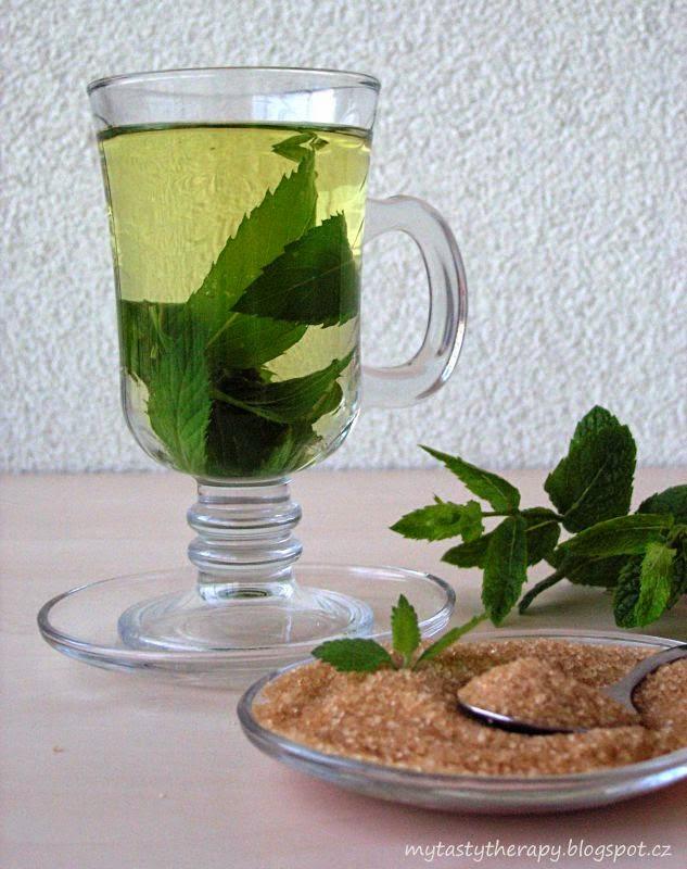 mátový čaj / mint tea