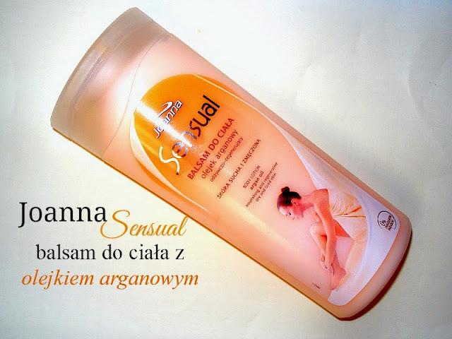 Joanna, Sensual, Balsam do ciała z olejkiem arganowym