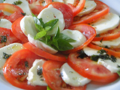 Zafferano Cucina Italiana: Insalata Caprese