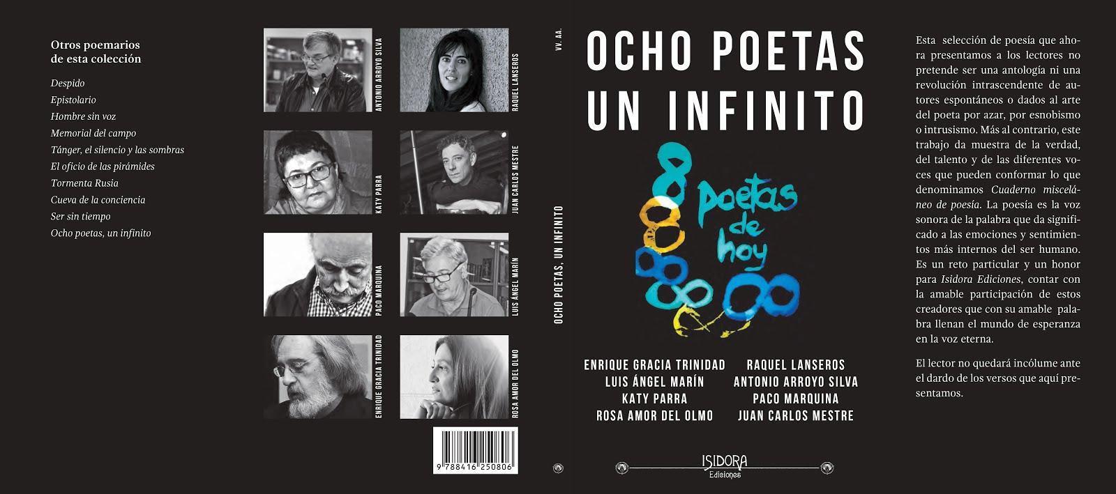 Ocho poetas en prensa