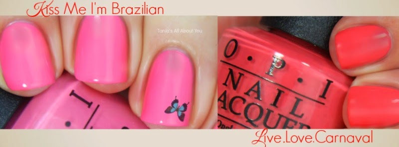 OPI brazil nail polish review by Barbie's Beauty Bits