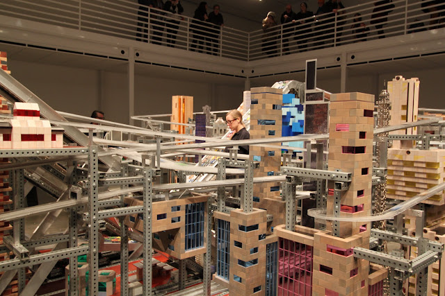 Chris Burden's Metropolis II, LACMA Los Angeles County Museum of Art