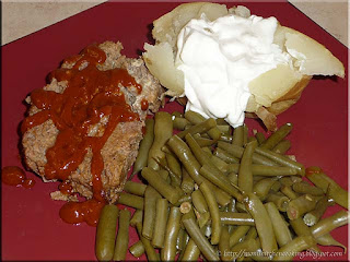 Mom's basic meatloaf