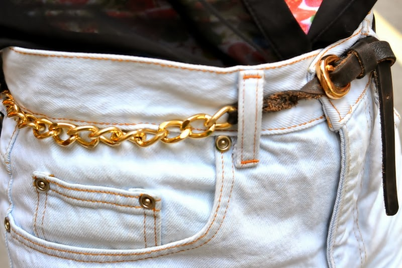 new york outfitpost style belt chain