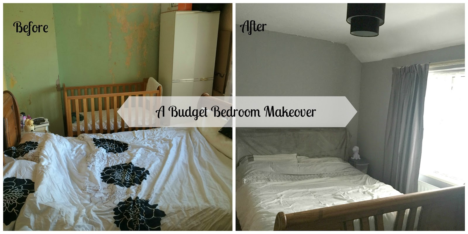 Newcastle family life are budget bedroom makeover for Bedroom makeover