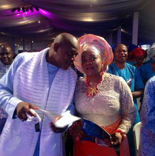 Stephen Keshi and wife, Kate