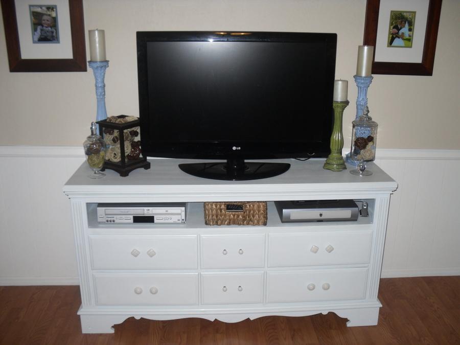 Craftify It My Dresser Tv Stand