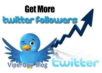Cara Memperbanyak Followers Twitter ViperGoy