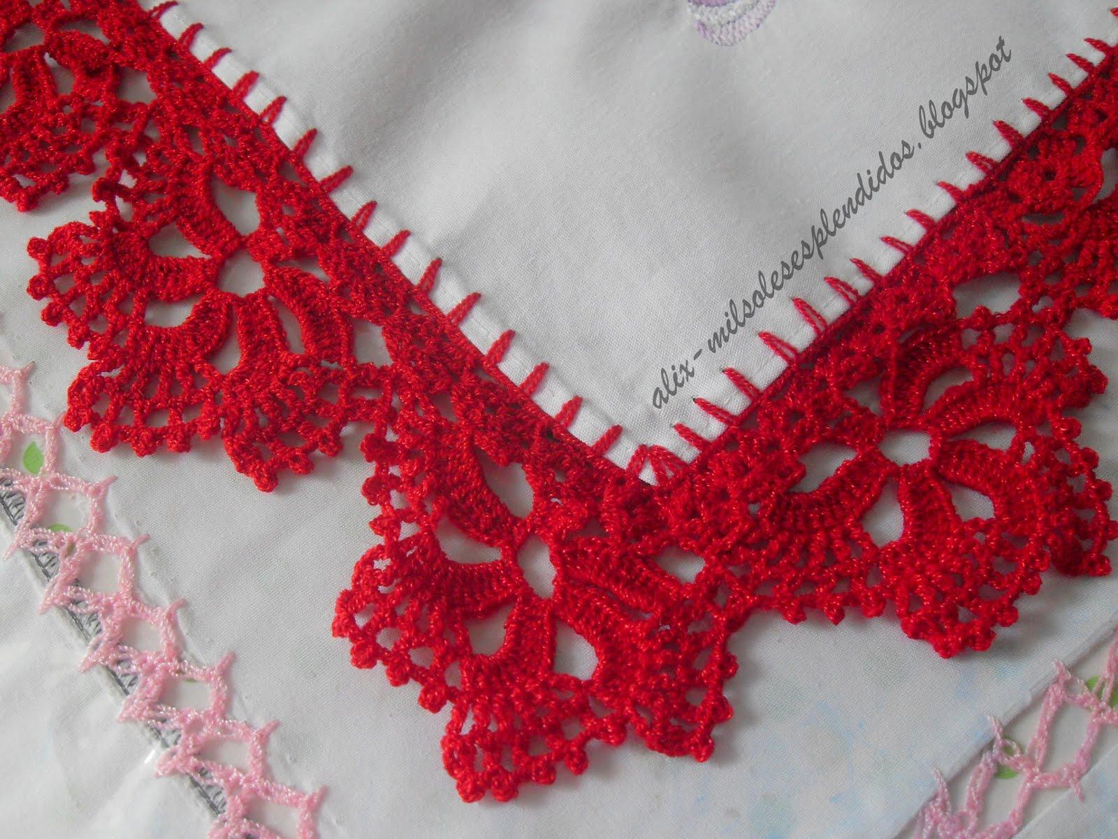 Orillas De Servilletas Tejidas A Crochet | HD Walls | Find Wallpapers