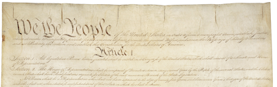 Constitution of the United States of America Image