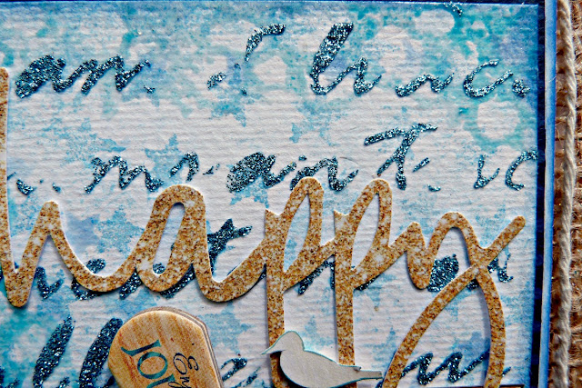 Wish Upon A Starfish Tracee Provis Bo Bunny mixed media off the page Boardwalk 02